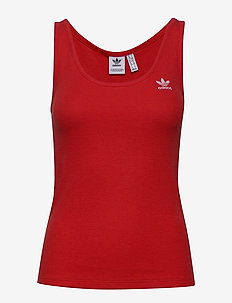 TANK TOP - LUSRED/WHITE