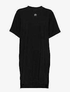 TRF DRESS - BLACK/WHITE