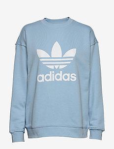 TRF CREW SWEAT - sweatshirts - clesky/white