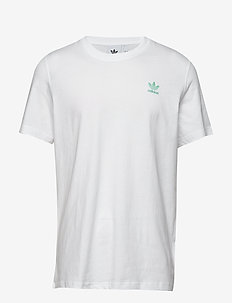 FRONT BACK TEE - white