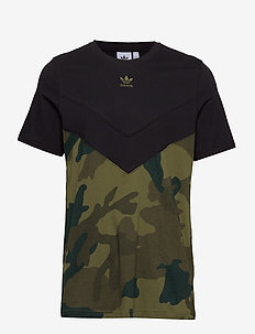 CAMO BLOCK T - BLACK/MULTCO
