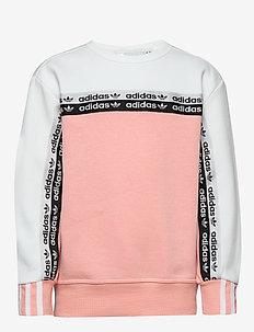CREW - sweatshirts - glopnk/white