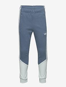 OUTLINE PANTS - jogginghosen - tecink/clgrey/white