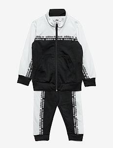 TRACKSUIT - trainingsanzug - black/white