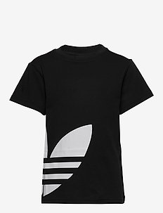 BIG TREFOIL TEE - BLACK/WHITE
