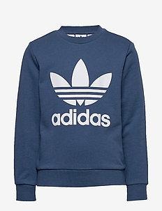 TREFOIL CREW - sweatshirts - nmarin/white