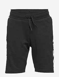 LOCK UP SHORTS - BLACK/WHITE