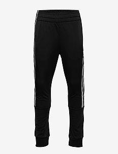 LOCK UP TP - spodnie dresowe - black/white
