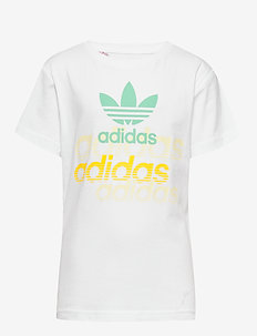GRAPHIC TEE - logo - white