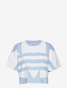 LRG LOGO TEE - logo t-shirts - clesky/white