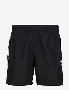 3 STRIPE SWIMS - swim shorts - black