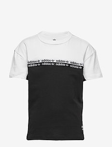 TEE - kurzärmelige - black/white