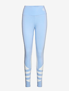 LRG LOGO TIGHT - leggings - clesky/white