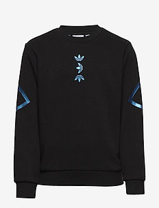 LRG LOGO CREW - sweatshirts - black/royblu