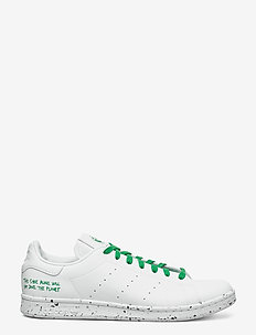 STAN SMITH - laag sneakers - ftwwht/ftwwht/green