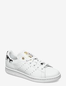 STAN SMITH W - low top sneakers - ftwwht/goldmt/cblack