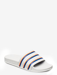 ADILETTE - badslippers - ftwwht/blue/solred