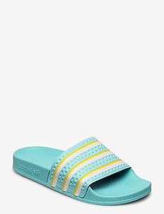 ADILETTE - sneakers - bluzes/ftwwht/wonglo