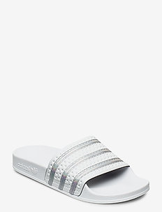 ADILETTE W - sneakers - crywht/ftwwht/crywht