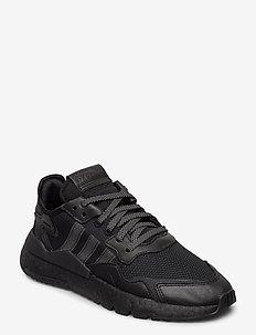NITE JOGGER - laag sneakers - cblack/cblack/cblack