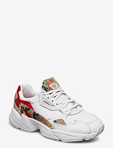 FALCON W - chunky sneakers - ftwwht/scarle/goldmt