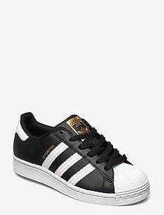 SUPERSTAR W - låga sneakers - cblack/ftwwht/cblack