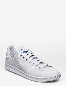 STAN SMITH - lave sneakers - ftwwht/ftwwht/blubir