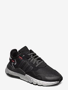 NITE JOGGER W - laag sneakers - cblack/shored/silvmt