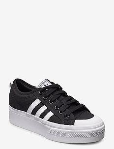 Nizza Platform  W - low top sneakers - cblack/ftwwht/ftwwht