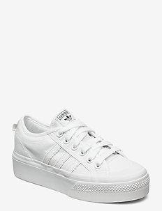 NIZZA PLATFORM W - sneakers - ftwwht/ftwwht/ftwwht