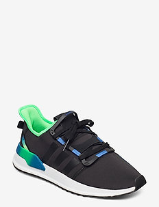 U_PATH RUN - lave sneakers - cblack/cblack/sholim