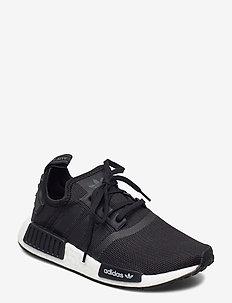 NMD_R1 J - sneakers - cblack/cblack/ftwwht
