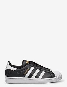Superstar Vegan - laag sneakers - cblack/ftwwht/goldmt