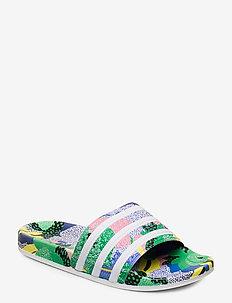 ADILETTE W - sneakers - supcol/ftwwht/legink