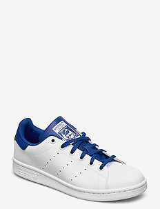 STAN SMITH J - laag sneakers - ftwwht/royblu/royblu