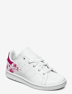 STAN SMITH C - sneakers - ftwwht/ftwwht/bopink
