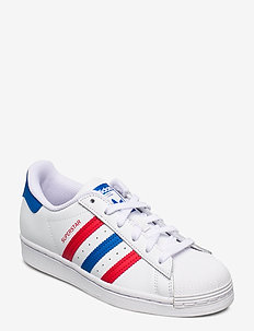 Superstar - low tops - ftwwht/blue/scarle
