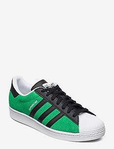 SUPERSTAR - lave sneakers - green/cblack/yellow