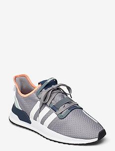 U_PATH RUN - lave sneakers - grethr/ftwwht/bluoxi