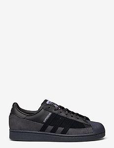 SUPERSTAR - lave sneakers - cblack/cblack/duspur