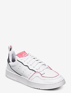 SUPERCOURT - laag sneakers - ftwwht/ftwwht/hazros