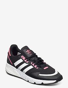 ZX 1K BOOST W - lage sneakers - cblack/ftwwht/hazros