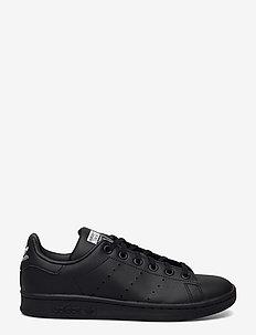 STAN SMITH J - low-top sneakers - cblack/cblack/ftwwht