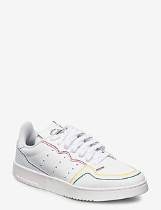 SUPERCOURT - lave sneakers - ftwwht/ftwwht/blue