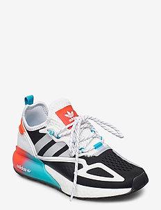ZX 2K BOOST W - låga sneakers - cblack/gretwo/sigcya