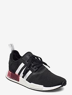 NMD_R1 W - låga sneakers - cblack/ftwwht/hazros