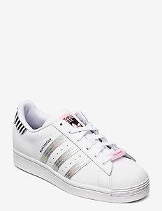 SUPERSTAR W - low top sneakers - ftwwht/trupnk/cblack