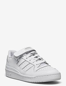 Forum Low - laag sneakers - ftwwht/ftwwht/ftwwht