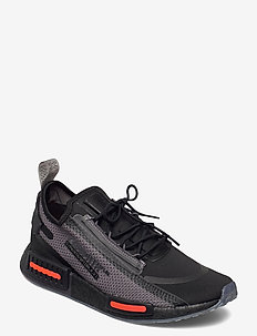 NMD_R1 SPECTOO - low tops - cblack/grefiv/solred