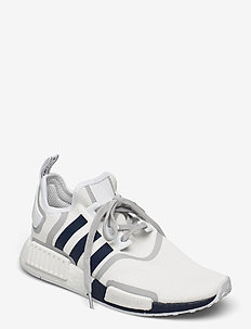 NMD_R1 - laag sneakers - ftwwht/crenav/gretwo